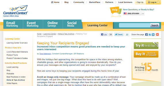 Email Marketing : Keeping Your Recipients Engaged