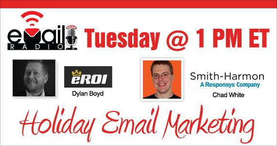 eMail Radio - Email marketing for the holidays