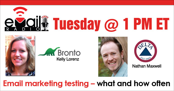 eMail Radio - Email marketing testing: What and how often?