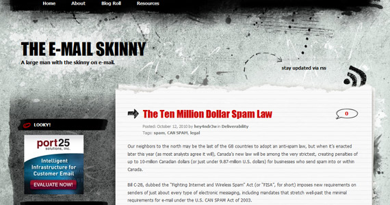Email Marketing: The Ten Million Dollar Spam Law