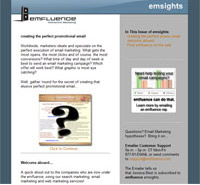 emfluence email marketing and online marketing newsletter : emsight