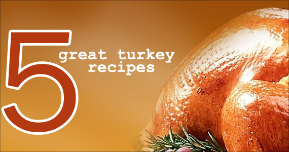 5 Great Turkey Recipes