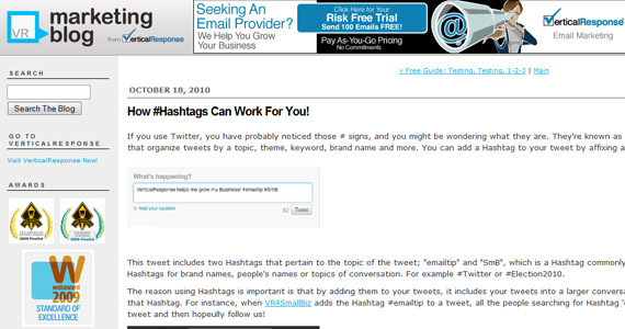 Social Marketing : How #Hashtags Can Work For You!