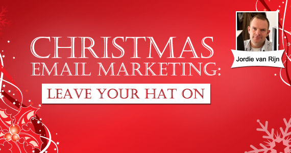 Christmas email marketing: leave your hat on