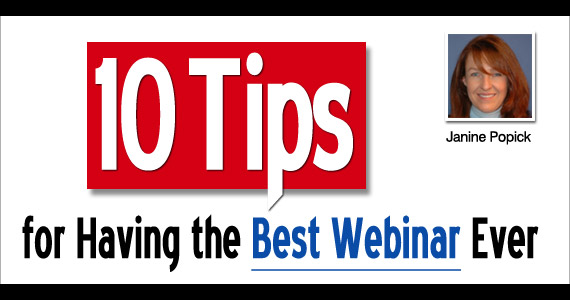 Email Marketing: 10 tips for the best webinar ever