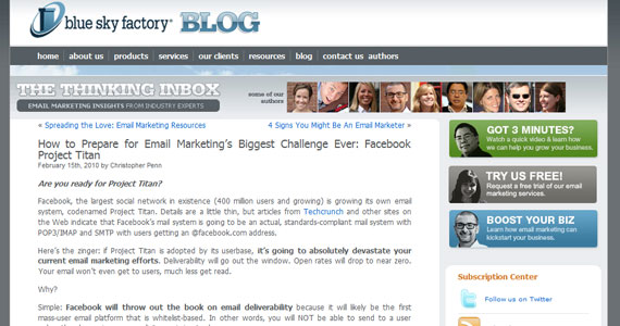 How to Prepare for Email Marketing's Biggest Challenge Ever: Facebook Project Titan