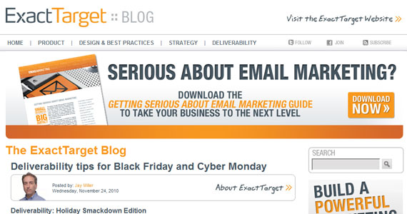 Email Marketing : Deliverability tips for Black Friday and Cyber Monday