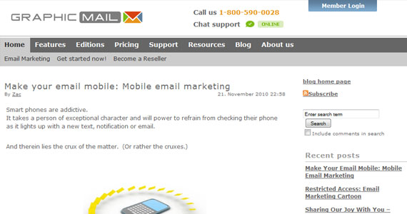 Email Marketing : Make your email mobile: Mobile email marketing