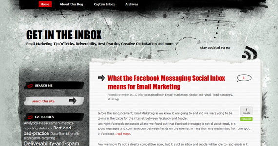 Email Marketing : What the Facebook Messaging Social Inbox means for Email Marketing