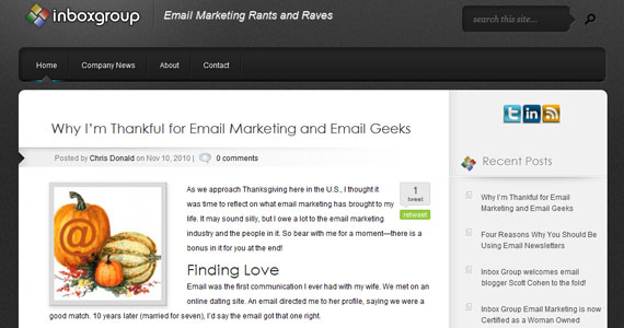 Why I'm Thankful for Email Marketing and Email Geeks