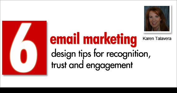 6 email marketing design tips for recognition, trust and engagement