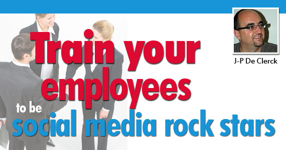 Social Marketing : Train Your Employees to be Social Media Rock Stars