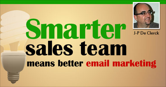 Smarter Sales Team Means Better Email Marketing