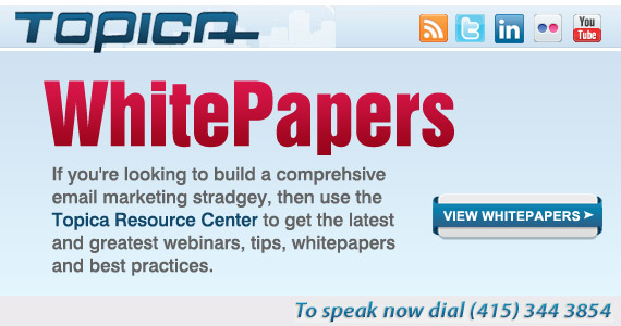 Topica - Download Email Marketing Whitepapers