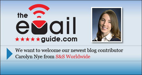 Welcome a new email marketing blogger: Carolyn Nye