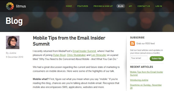 Email Marketing : Mobile Tips from the Email Insider Summit