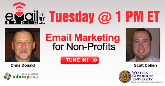 eMail Radio - Email Marketing for non-profits
