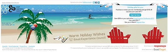 Happy Holidays from the eec