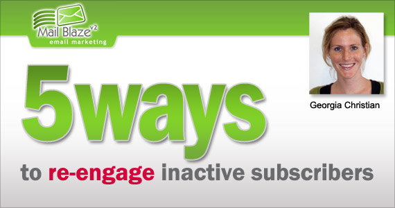 Email Marketing : 5 ways to Re-engage Inactive Subscribers