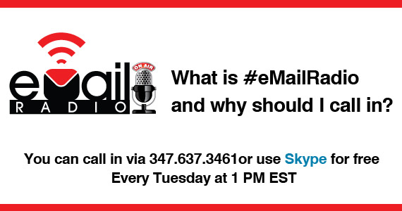 What is #eMailRadio and why should I call in ?