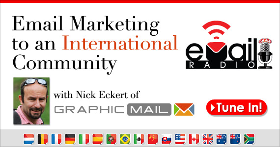 #eMailRadio Presents: Email Marketing to an International Community