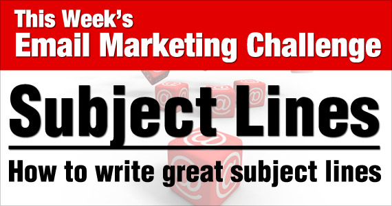 The Monday Challenge - Subject Lines