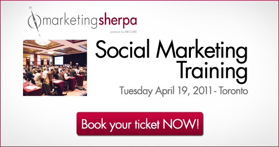 MarketingSherpa's Social Marketing Training