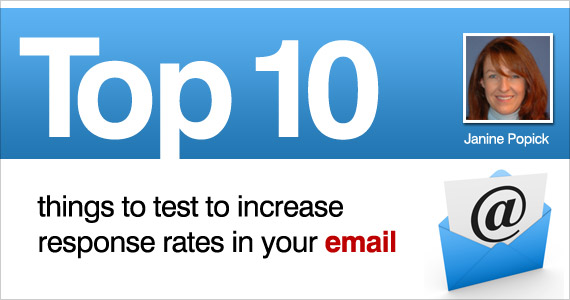 Top 10 Thing to Test to Put Your Email on The Top 10 List!