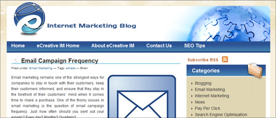 Ecreative Marketing Blog - Email Campaign Frequency