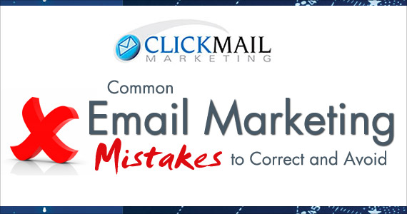 Common Email Marketing Mistakes to Correct and Avoid