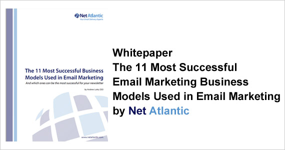 Whitepaper - The 11 Most Successful Business  Models Used in Email Marketing by Net Atlantic