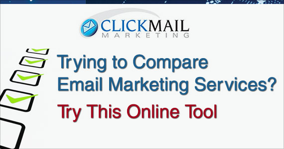 Trying to Compare Email Marketing Services? Try This Online Tool