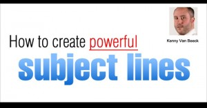 How to create powerful subject lines