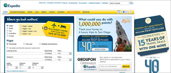 Expedia - Email Campaign Manager