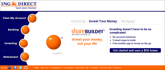 ING Direct - Email Marketing Specialist