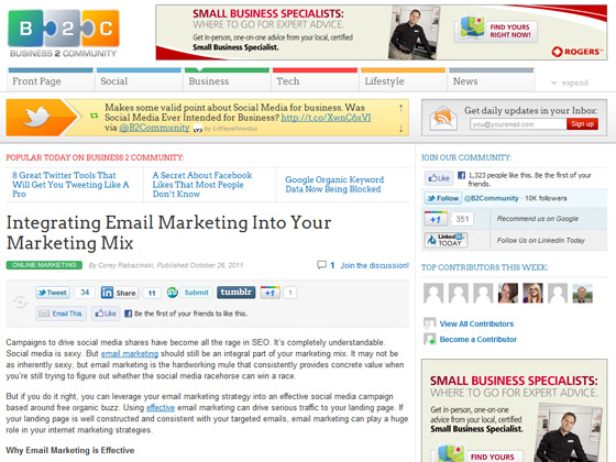 Integrating Email Marketing Into Your Marketing Mix