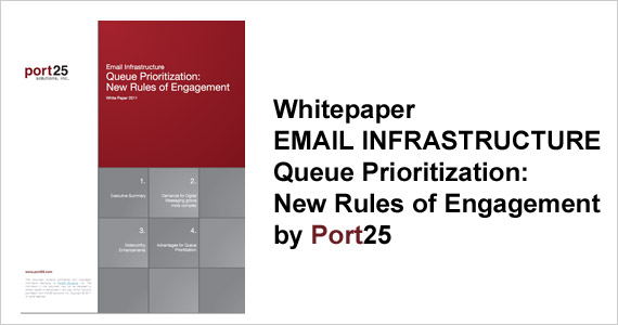 EMAIL INFRASTRUCTURE- Queue Prioritization: New Rules of Engagement