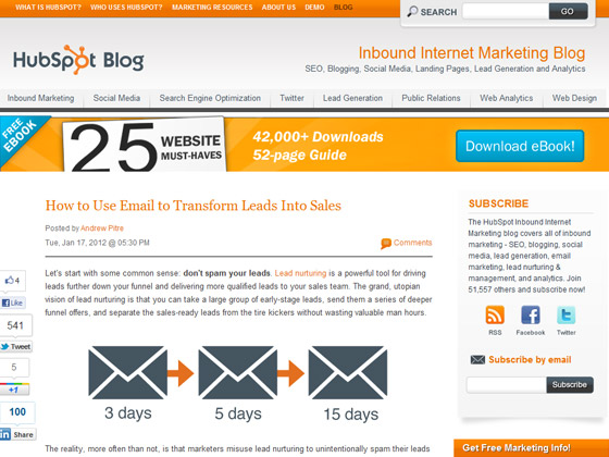 HubSpot - How to Use Email to Transform Leads Into Sales