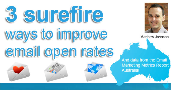 3 Surefire Ways to Improve Email Open Rates – by Matthew Johnson @Vision6