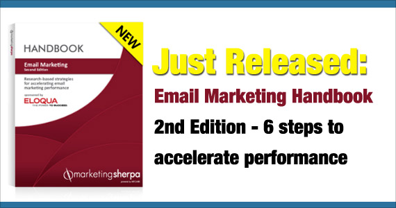 Just Released: Email Marketing Handbook 2nd Edition - 6 steps to accelerate performance
