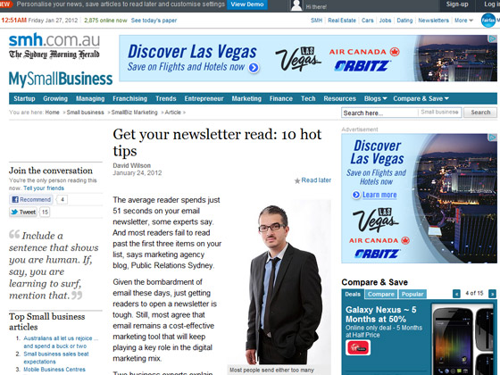 Get your newsletter read: 10 hot tips