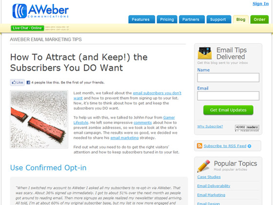 How To Attract (and Keep!) the Subscribers You DO Want