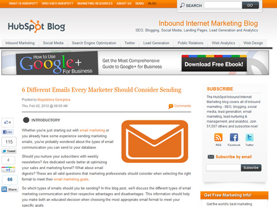 HubSpot 6 Different Emails Every Marketer Should Consider Sending