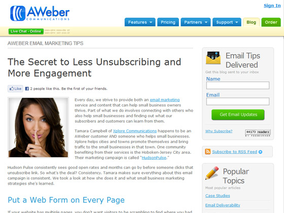 The Secret to Less Unsubscribing and More Engagement