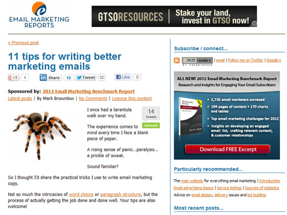 11 tips for writing better marketing emails