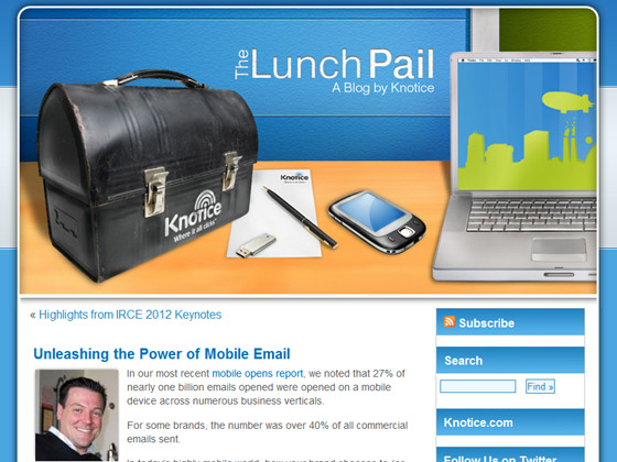 The Lunch Pail - Unleashing the Power of Mobile Email