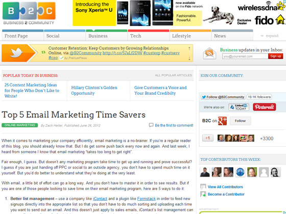 Top 5 Email Marketing Time Savers
