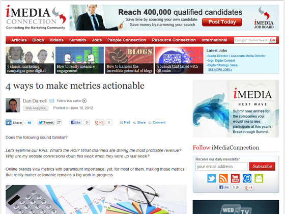 4 ways to make metrics actionable