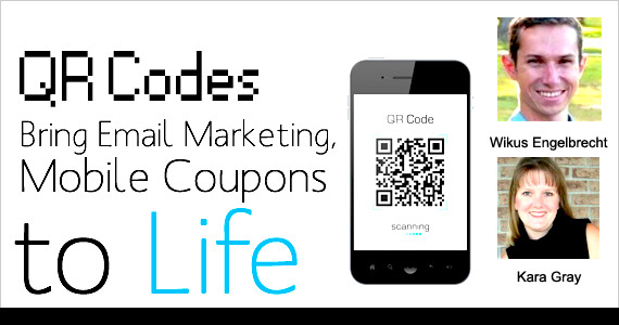 QR Codes Bring Email Marketing, Mobile Coupons to Life by Wikus Engelbrecht @WKS_Engelbrecht