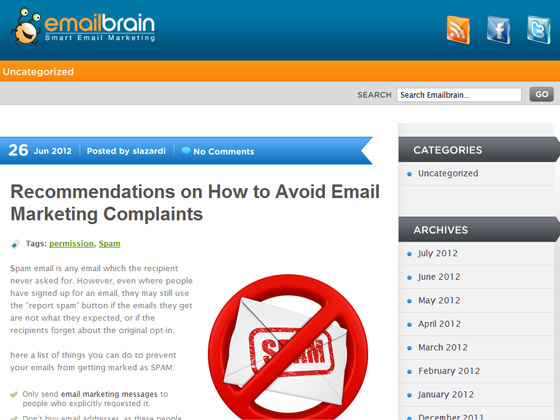 Recommendations on How to Avoid Email Marketing Complaints
